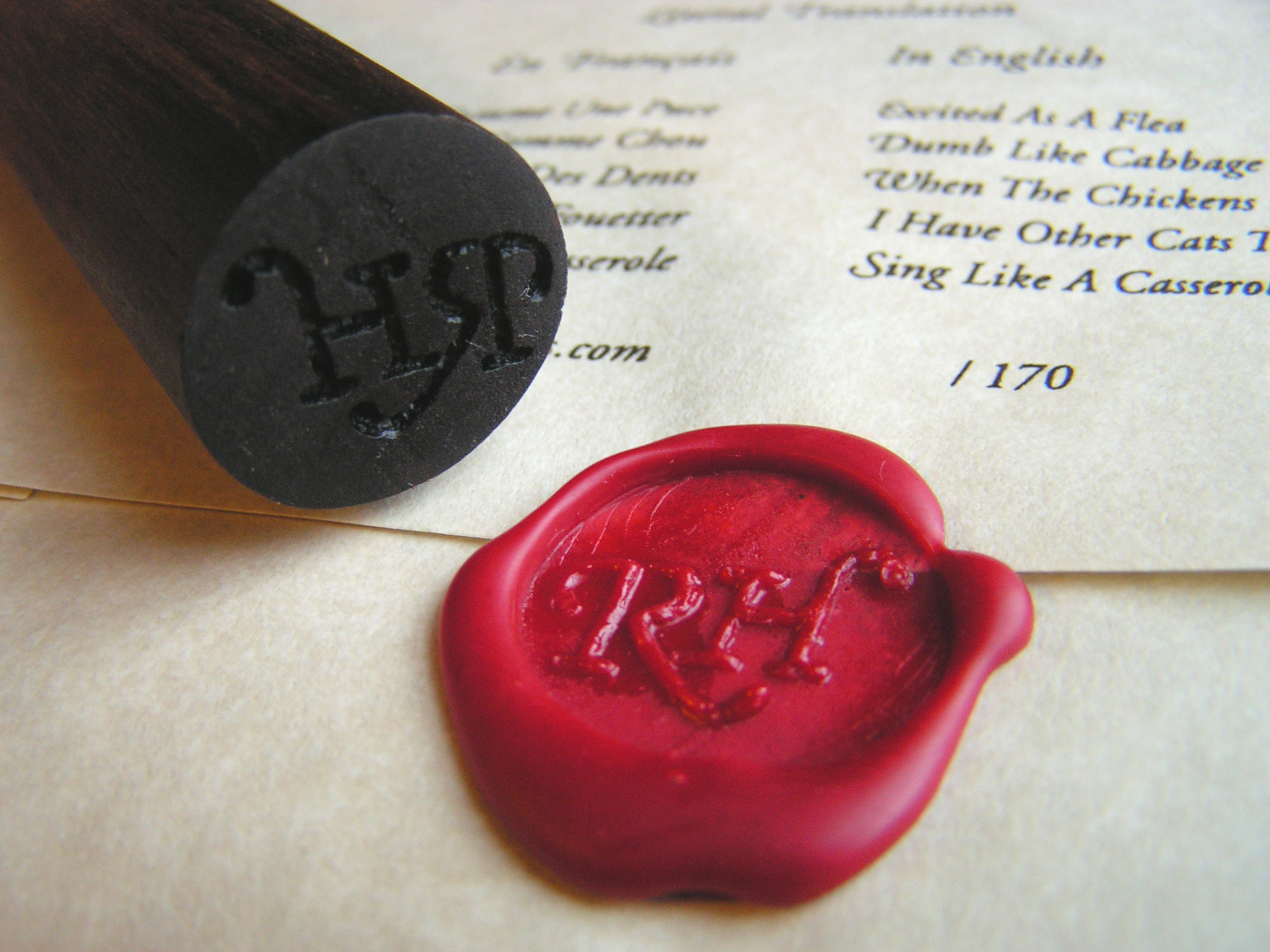 Best ideas about DIY Wax Seal . Save or Pin Thursday DIY Madness Now.