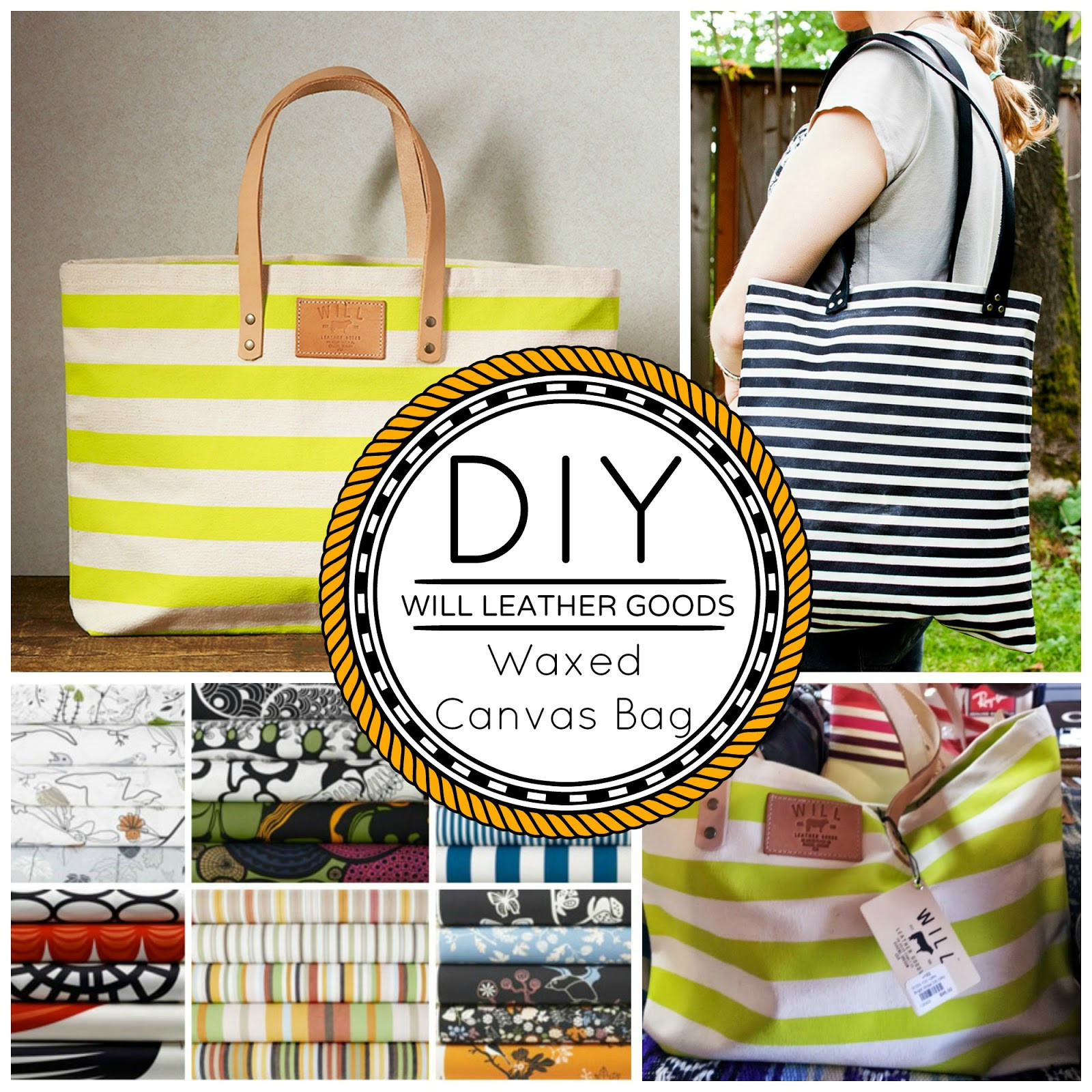 Best ideas about DIY Waxed Canvas . Save or Pin DIY Waxed Canvas Bag Will Leather Goods Look A Like Now.