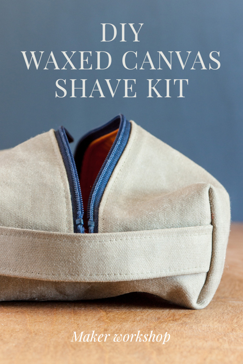Best ideas about DIY Waxed Canvas . Save or Pin DIY waxed canvas shave kit workshop for makers – a maker Now.