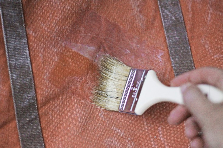 Best ideas about DIY Waxed Canvas . Save or Pin DIY A $15 Waxed Canvas Tote Gardenista Now.