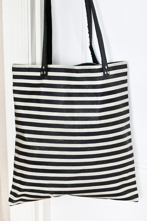 Best ideas about DIY Waxed Canvas . Save or Pin DIY Waxed Canvas Tote Bag Tutorial Now.