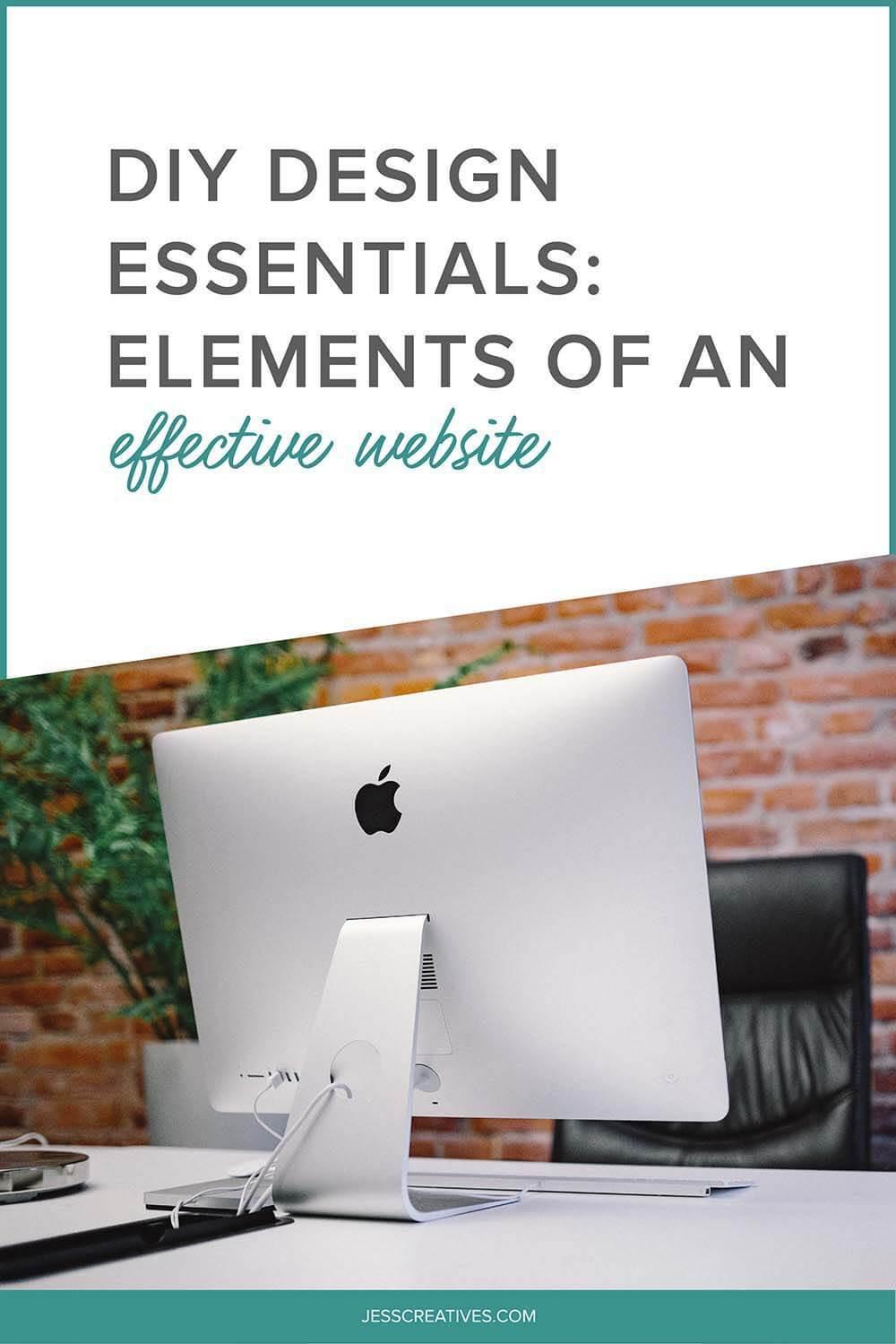 Best ideas about DIY Website Design . Save or Pin DIY Design Essentials Elements of an Effective Website Now.