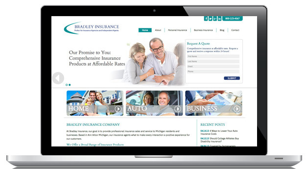 Best ideas about DIY Website Design . Save or Pin Introducing Bradley A Great Option for DIY Insurance Now.