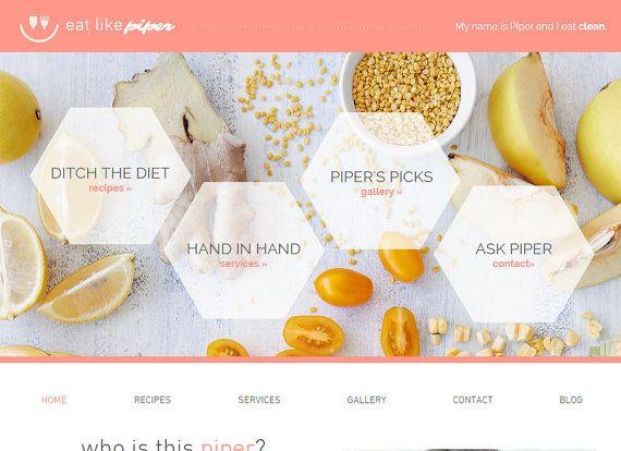 Best ideas about DIY Website Design . Save or Pin DIY Website Blog template Lifestyle Web Design SEO Now.