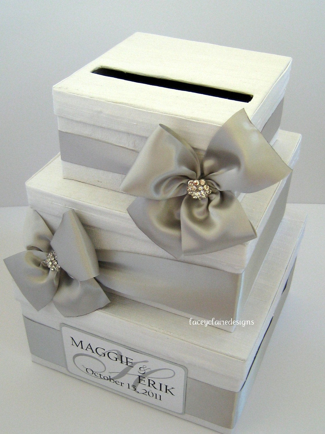 Best ideas about DIY Wedding Money Box . Save or Pin Wedding Card Box Money Card Box Gift Card Box Card Holder Now.