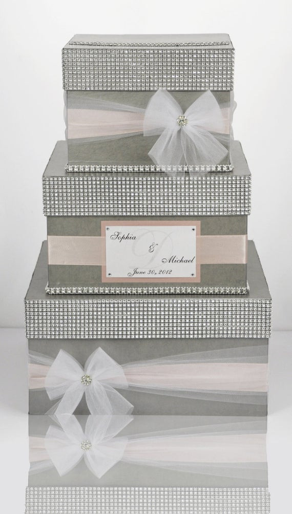 Best ideas about DIY Wedding Money Box . Save or Pin Card box Wedding Box Wedding money box 3 tier Now.