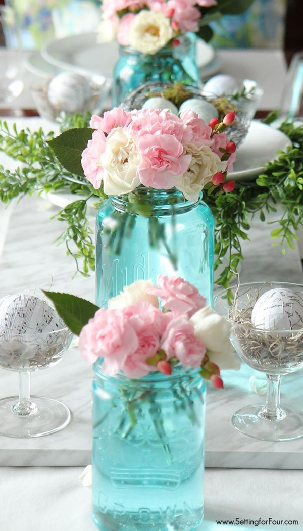 Best ideas about DIY Wedding Table Decorations . Save or Pin 20 Creative DIY Wedding Ideas For 2016 Spring Now.