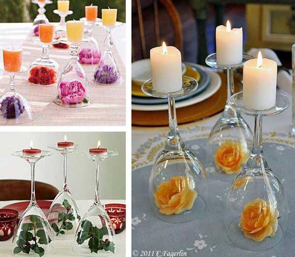 Best ideas about DIY Wedding Table Decorations . Save or Pin 30 Bud Friendly Fun and Quirky DIY Wedding Ideas Now.