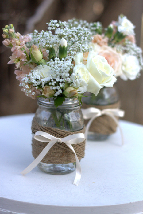 Best ideas about DIY Wedding Table Decorations . Save or Pin DIY Wedding Table Decoration Ideas – HowToBePerfectWoman Now.