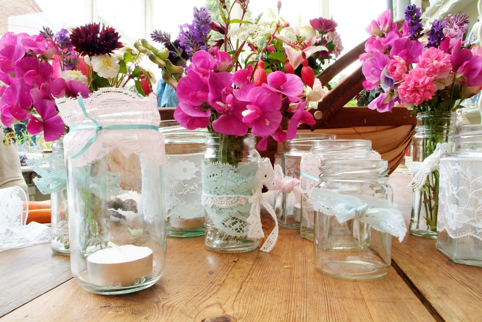 Best ideas about DIY Wedding Table Decorations . Save or Pin Chintz n China DIY Special simple table decorations Now.