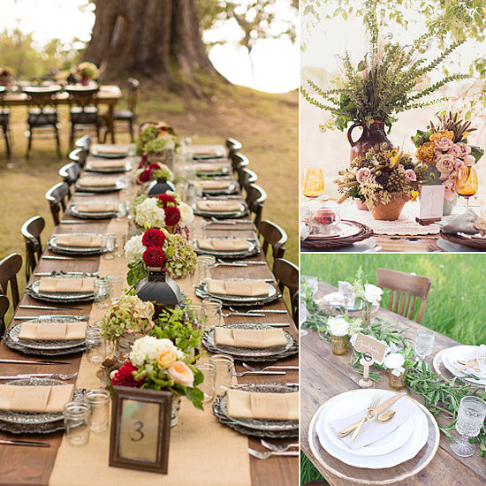 Best ideas about DIY Wedding Table Decorations . Save or Pin 53 Fall Wedding Table Settings 25 Beautiful Fall Wedding Now.