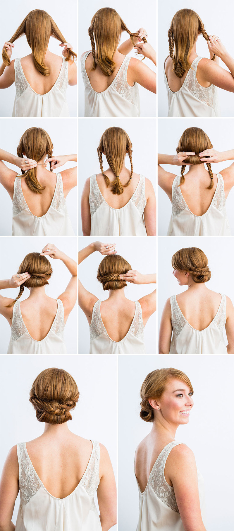 Best ideas about DIY Wedding Updos . Save or Pin 10 Best DIY Wedding Hairstyles with Tutorials Now.