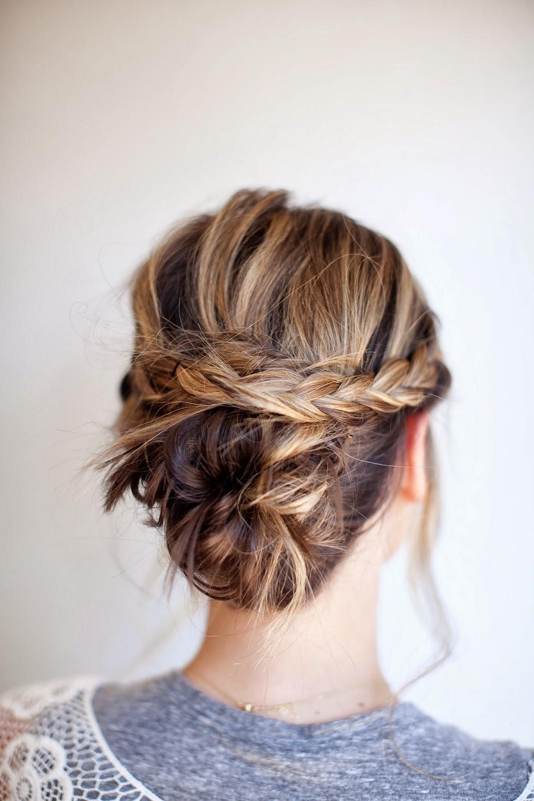 Best ideas about DIY Wedding Updos . Save or Pin TESSA RAYANNE THREE DIY Bridal Hair Tutorials Now.