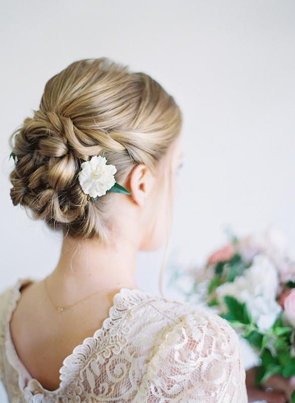 Best ideas about DIY Wedding Updos . Save or Pin Stunning DIY Twisted Wedding Hair Updo Weddingomania Now.