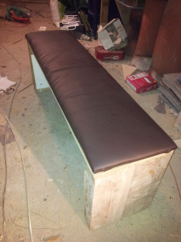 Best ideas about DIY Weight Bench . Save or Pin Super strong homemade weights bench Now.