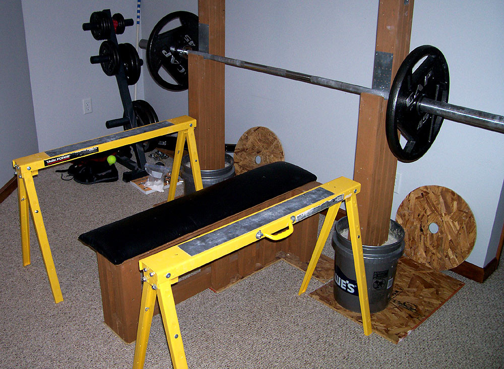 Best ideas about DIY Weight Bench . Save or Pin Homemade Strength The strongest bench you ll never Now.