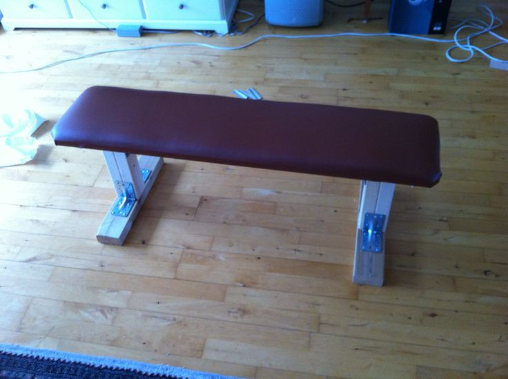 Best ideas about DIY Weight Bench . Save or Pin DIY weight training bench gym diy Pinterest Now.