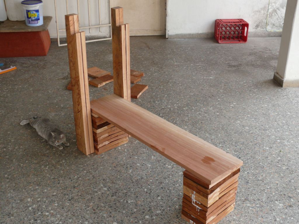Best ideas about DIY Weight Bench . Save or Pin Wooden Bench Press Design PDF Woodworking Now.