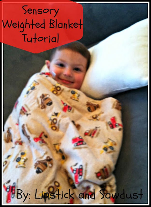 Best ideas about DIY Weighted Blanket . Save or Pin 11 Weighted Blankets to DIY DIY Ready Now.