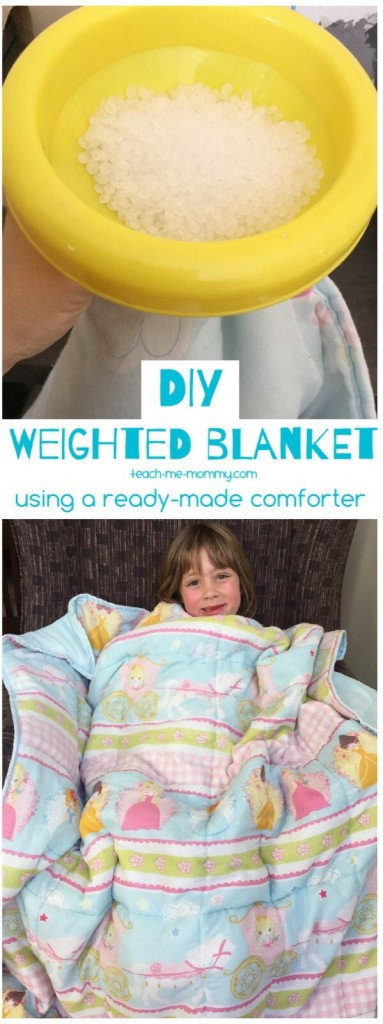 Best ideas about DIY Weighted Blanket . Save or Pin DIY Weighted Blanket Teach Me Mommy Now.