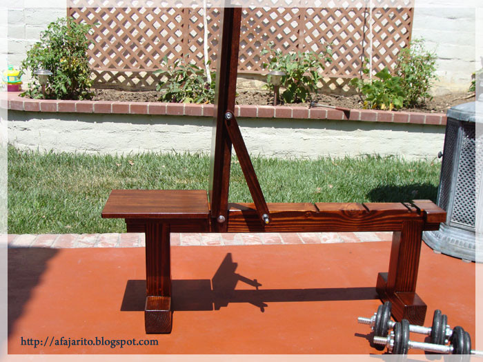 Best ideas about DIY Weights Bench . Save or Pin DIY BLOG DIY Weight Bench 5 position Flat Incline Now.