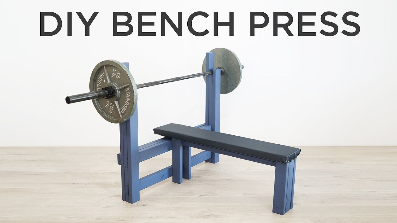 Best ideas about DIY Weights Bench . Save or Pin DIY Bench Press Now.