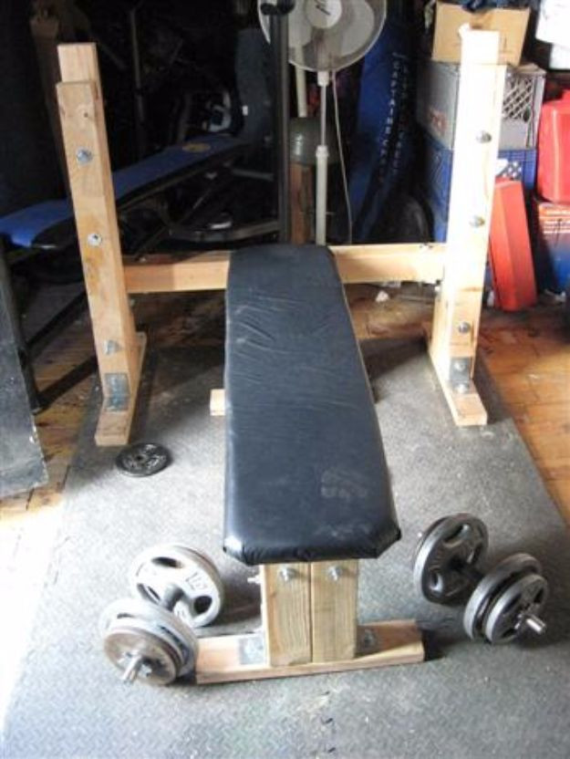 Best ideas about DIY Weights Bench . Save or Pin 30 Cool DIY Exercise Equipment Projects You Can Make For Now.