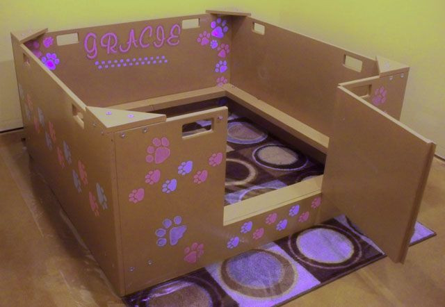 Best ideas about DIY Whelping Box . Save or Pin DIY Whelping Box Ideas for my pregnant dog Now.