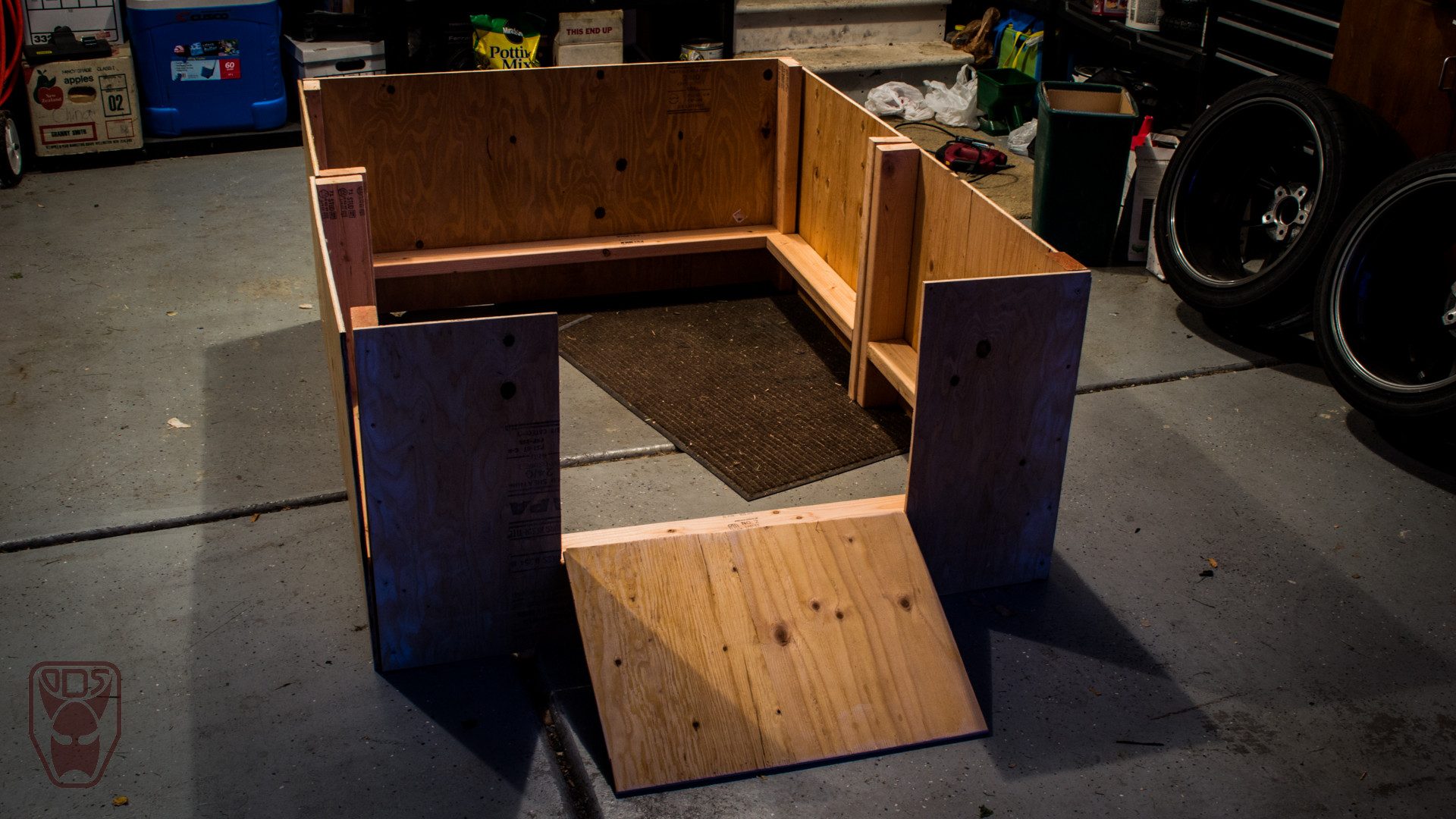Best ideas about DIY Whelping Box . Save or Pin Building a Whelping box for our Great Dane Now.