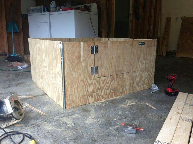 Best ideas about DIY Whelping Box . Save or Pin DIY whelping box For The Dogs Pinterest Now.