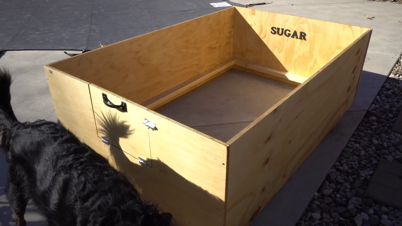 Best ideas about DIY Whelping Box . Save or Pin How to build make a puppy whelping box DIY Now.