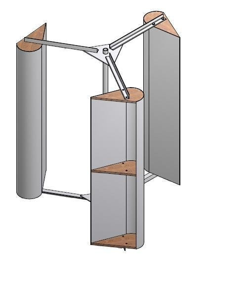 Best ideas about DIY Wind Turbine Plans . Save or Pin Vertical Access Wind Turbine Plans Simple PDF Download Now.