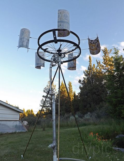 Best ideas about DIY Wind Turbine Plans . Save or Pin DIY Wind Powered Water Pump Now.