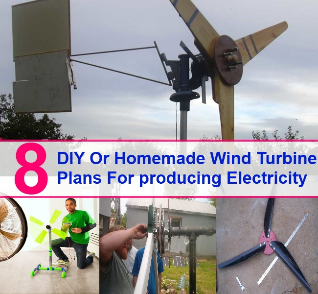 Best ideas about DIY Wind Turbine Plans . Save or Pin 8 Free DIY Homemade Wind Turbine Plans And Designs For Now.
