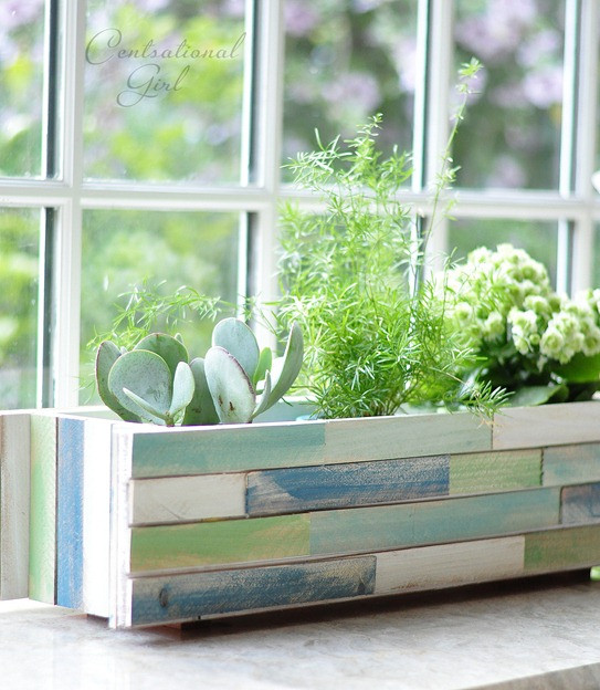 Best ideas about DIY Window Planter Box . Save or Pin Wood Shim Window Box Planter Now.