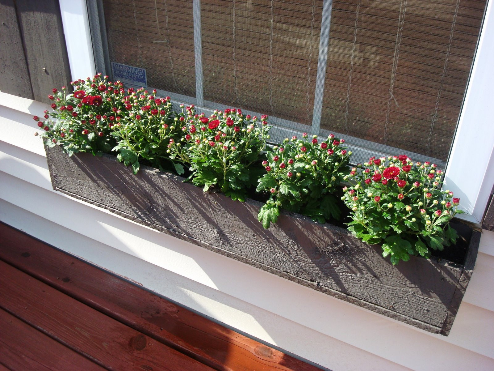 Best ideas about DIY Window Planter Box . Save or Pin 12 Gorgeous DIY Window Box Planters Now.