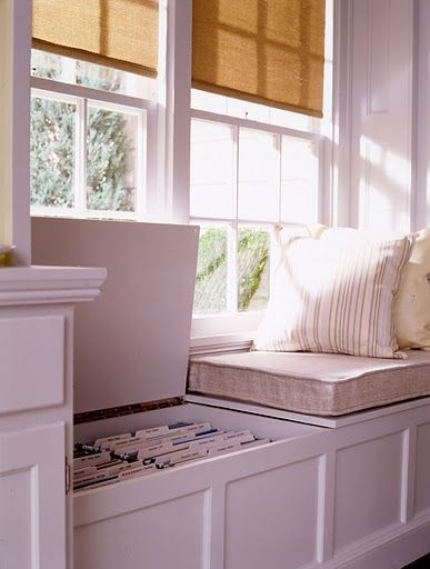 Best ideas about DIY Window Seats With Storage . Save or Pin DIY Home Projects Laundry room ideas Now.