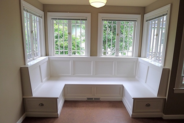Best ideas about DIY Window Seats With Storage . Save or Pin 25 Kitchen Window Seat Ideas Now.