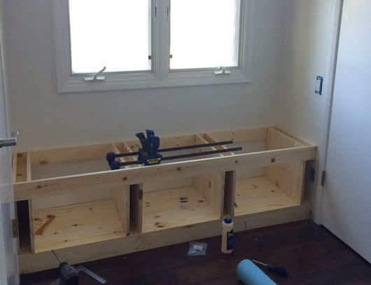 Best ideas about DIY Window Seats With Storage . Save or Pin DIY Wooden Window Bench Seat With Storage Now.