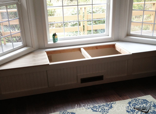 Best ideas about DIY Window Seats With Storage . Save or Pin alisaburke DIY window seat Now.