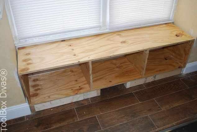 Best ideas about DIY Window Seats With Storage . Save or Pin DIY Window Bench Seat With Drawer Storage Now.