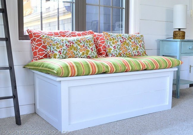 Best ideas about DIY Window Seats With Storage . Save or Pin DIY Window Seat 5 You Can Make Bob Vila Now.