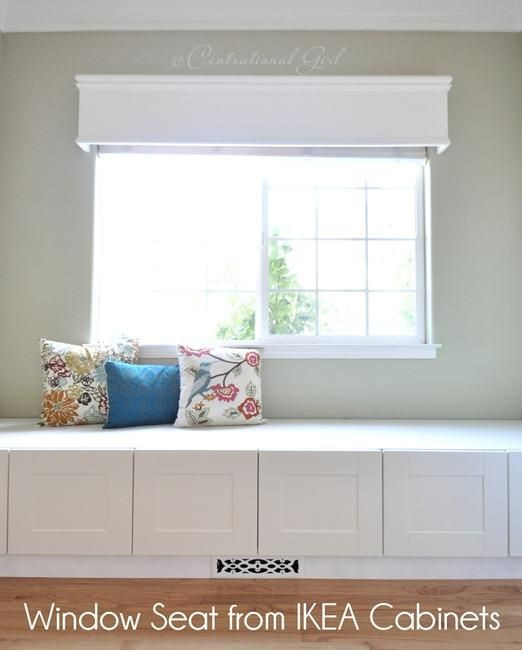 Best ideas about DIY Window Seats With Storage . Save or Pin DIY IKEA Hack DIY Window Seat from IKEA Cabinets Now.