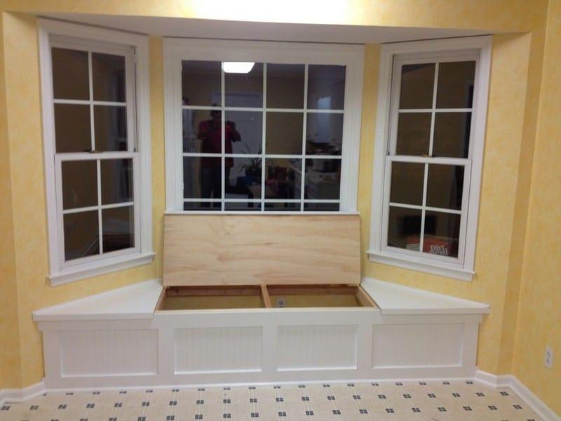 Best ideas about DIY Window Seats With Storage . Save or Pin DIY Window Seat with Storage Now.