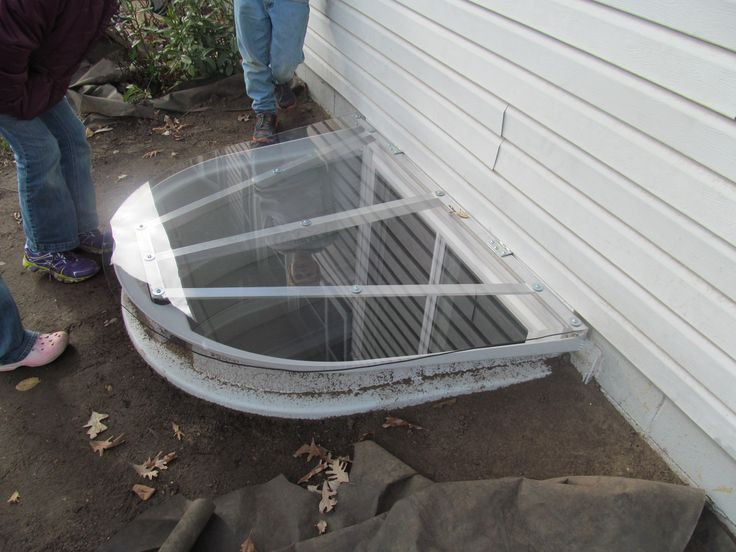 Best ideas about DIY Window Well Cover . Save or Pin We made this egress window well cover out of 1 4 inch Now.