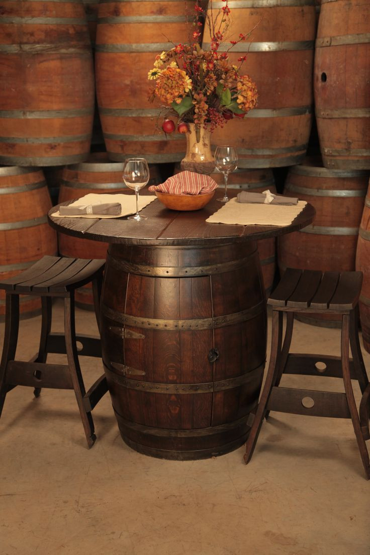 Best ideas about DIY Wine Barrel Table . Save or Pin DIY Creatively Re purposed Wine Barrels That You ll Have Now.