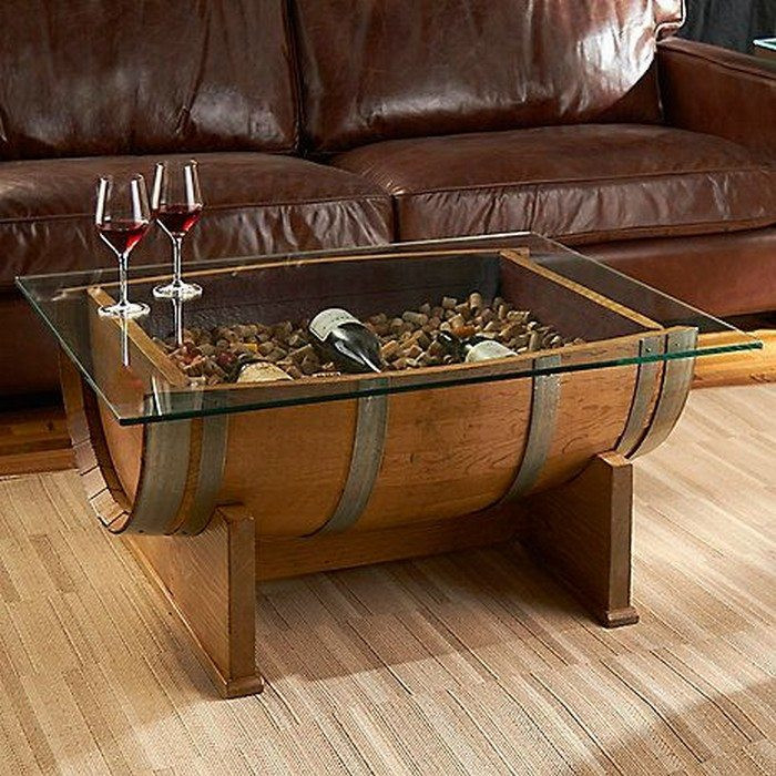 Best ideas about DIY Wine Barrel Table . Save or Pin How to make a wine barrel coffee table Now.