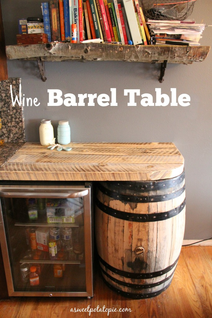 Best ideas about DIY Wine Barrel Table . Save or Pin DIY Wine Barrel Table Now.