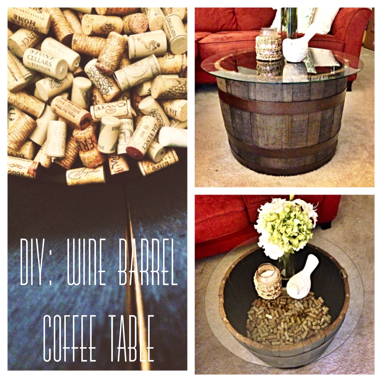 Best ideas about DIY Wine Barrel Table . Save or Pin CEVI Chion DIY Wine Barrel Coffee Table Now.