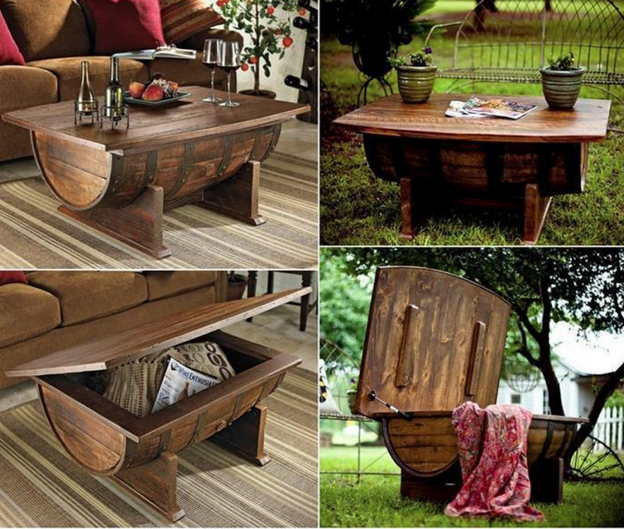 Best ideas about DIY Wine Barrel Table . Save or Pin DIY Wine Barrel Table s and for Now.